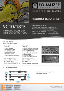 VC10/13TE Secure-Grip Valve Change-Out Tool