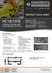 VC10/18TE Secure-Grip Valve Change-Out Tool